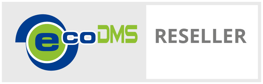 Reseller des Dokumentenmanagement-Systems (DMS) 'ecoDMS'