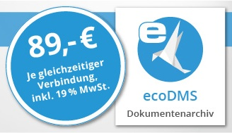 ecoDMS - Dokumentenmanagement